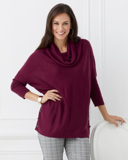 Easy as Pie Sweater Poncho