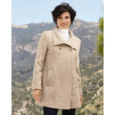 PY Stand-Up Collar Coat