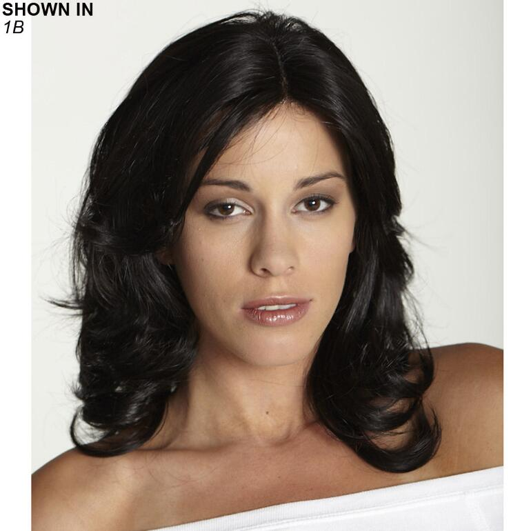 Christina Human Hair Blend Monofilament Wig by Revolution Collection