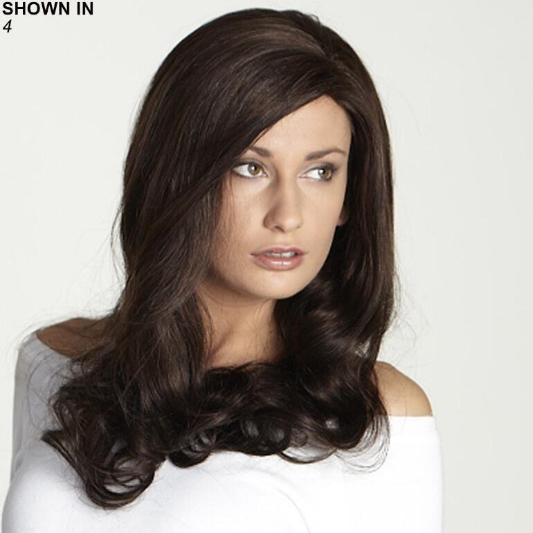 Selena Human Hair Blend Monofilament Wig by Revolution Collection