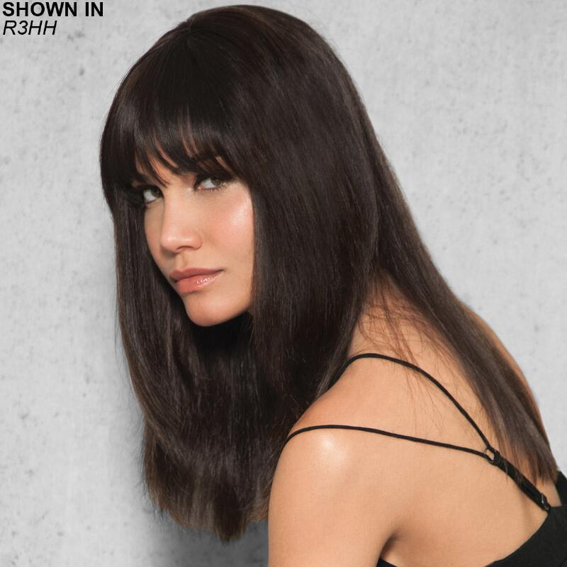 Clip In Human Hair Fringebang Hair Piece By Hairdo Get Yours At