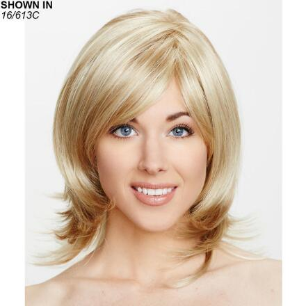Michigan II Hand-Tied Monofilament Wig by Dream USA