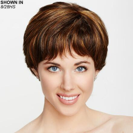 Victoria Hand-Tied Monofilament Wig by Dream USA