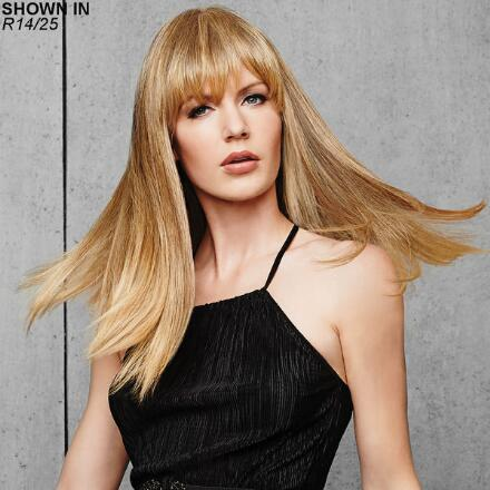 Fringe Top of Head Monofilament Topper Hair Piece by Hairdo®