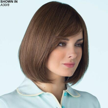 Quinn Monofilament Lace Front Human Hair Wig by Amore®