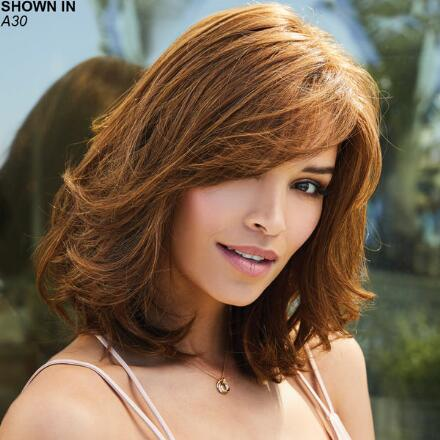 Blair Monofilament Lace Front Human Hair Wig by Amore®