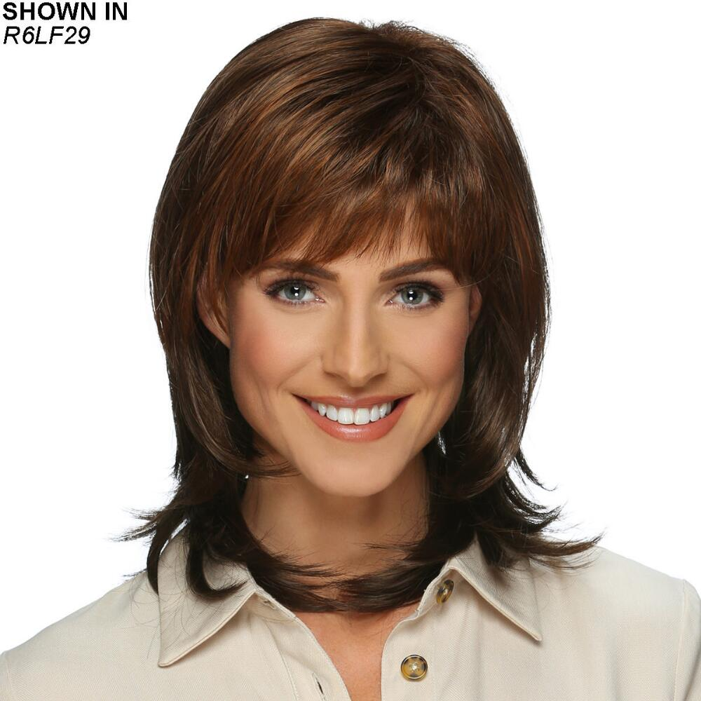 The Evette Wig By Estetica Designs Has Feminine Layers Paula Young