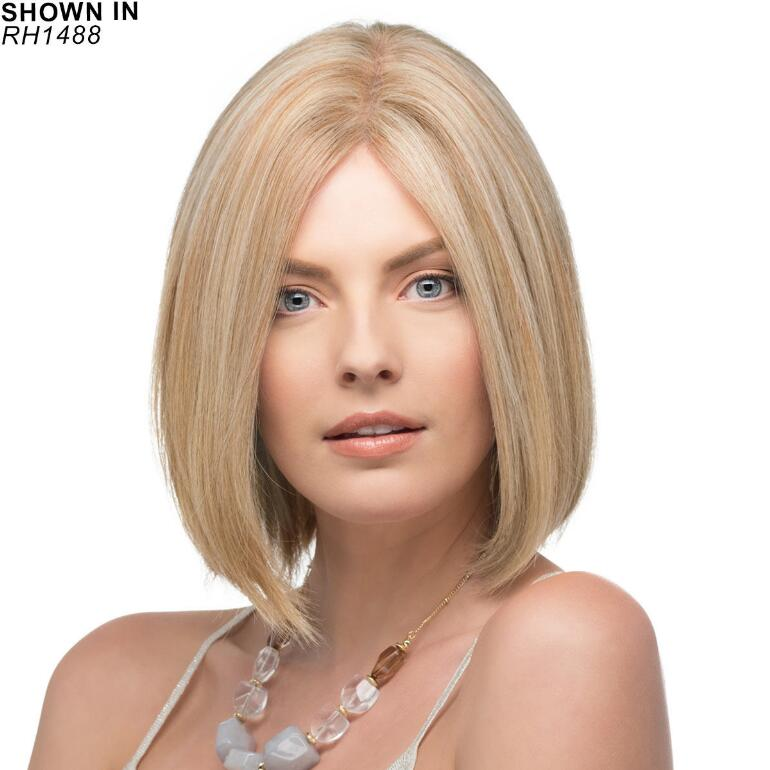 Emmeline Remy Human Hair Monofilament Wig by Estetica Designs