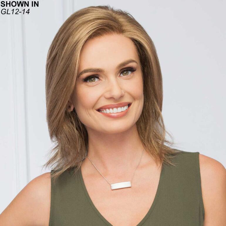 Lasting Impression Lace Front Monofilament Wig by Gabor®