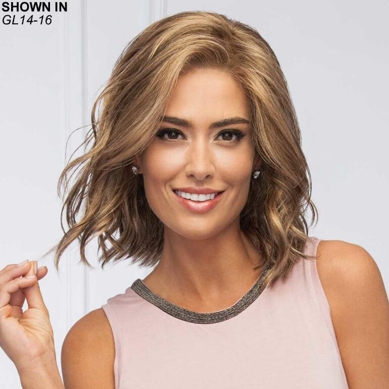 Soft and Subtle Lace Front Monofilament Wig by Gabor®